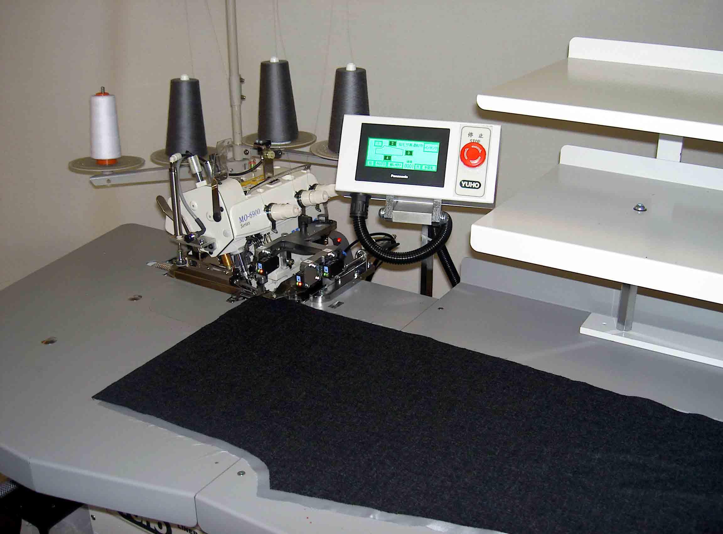 LINER SERGING MACHINE