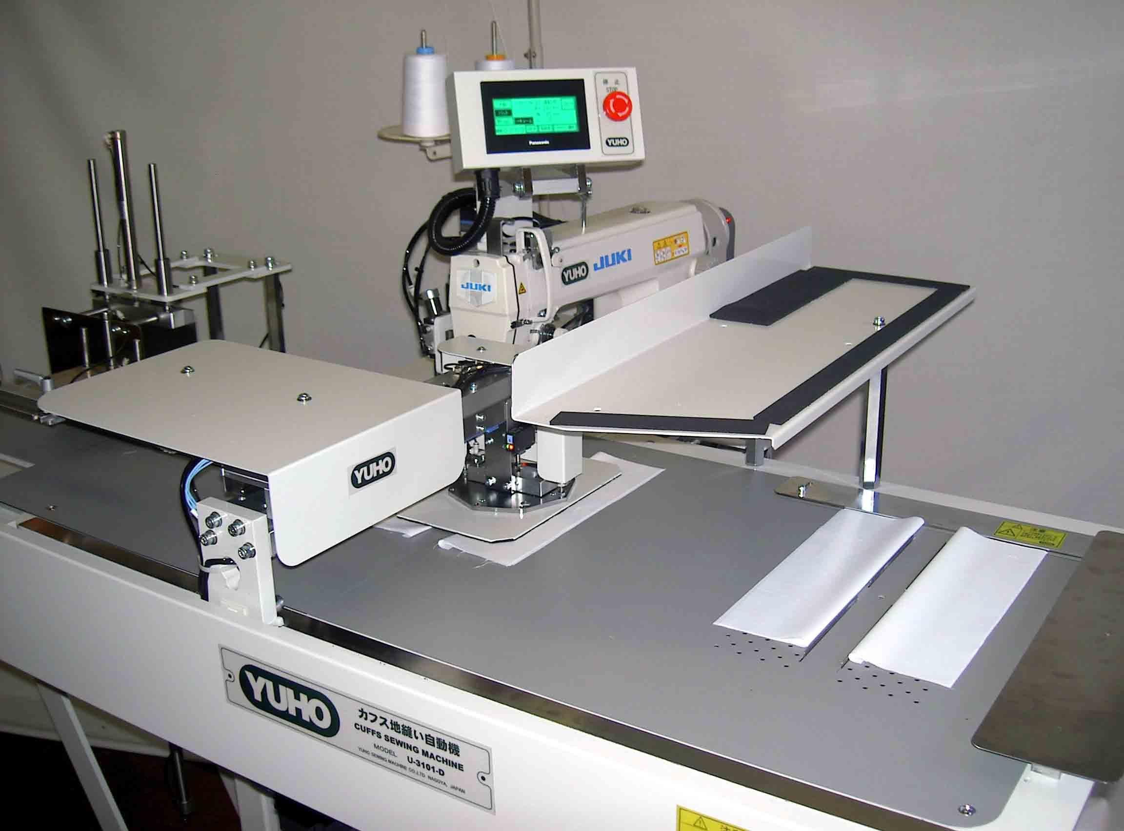 cuff sewing machine